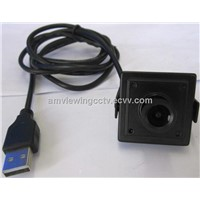 1.3MP Color Mini USB Camera,30x30mm,3.6mm Board Lens(Pinhole Lens Available)