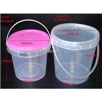 1.5l Plastic Bucket, Clear Bucket, Food Containers