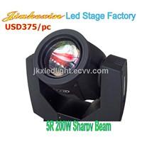 200w 5r Sharpy Moving Head Beam Light for Stage Lighting Equipment Wedding Light Disco Effect