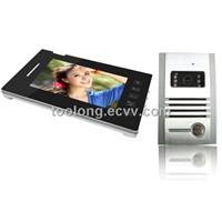 2013 New 7inch Touch Scren Video Intercom Door Phone