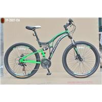 "26""x1.95 steel suspension frame&fork shimano 18 speed phoenix mountain bike"