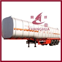 2Axles Milk /Blood Liquid Transport Tanker Trailer