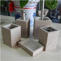 4/5pcs set resin bathroom set (item #: BP0260)