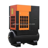 5.5KW 7.5HP Tank Mounted Screw Air Compressor (AH-7)