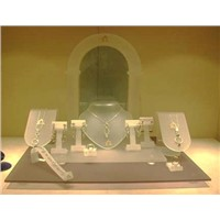 Acrylic Jewelry Display to Hold Various Jewelries at Home or at the Window Shop
