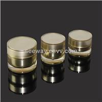 Acrylic cream jar for cosmetics packaging