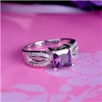 Beautiful zircon rings wholesale imitation jewelry
