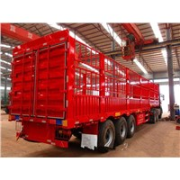 Best Price Tri-Axle Transport 60 Ton Low Bed Stake Semi Trailer