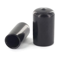 Black Steel Bar End Caps, Steel Bar End Protector