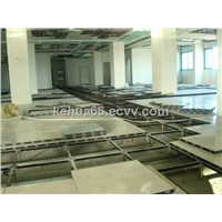 Calcium Sulphate Raised Floor with Ceramic Tile
