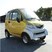 China 3-Seat Electric Car With A Low Price