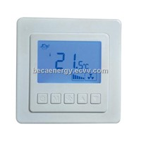 China Simple LCD Two pipe Fan Coil Room Thermostat BAC-5000