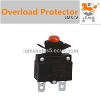 Circuit breaker overload circuit protector