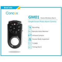 Concox GSM smart alarm system with camera for Home use GM01