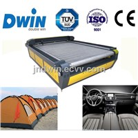 DW1640 Leather Car Seat Cover Laser Cutting Machinery with auto feeding