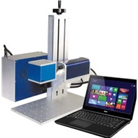 Desk-type Fiber Laser Marking Machine for Electronic & Communication Products, Auto Parts
