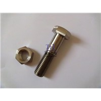 Din 931 titanium hex bolts and nuts