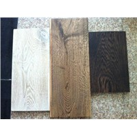 Engineered oak wood flooring/wide plank oak flooring