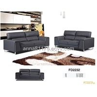 FD2232 chair love 3S American style  leather sofa