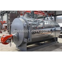 Fire tube automatic oil gas fired steam boiler
