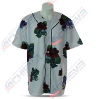 Free Design Sublimation Baseball Jersey