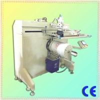 pail screen printing machine with step motor and Touch screen