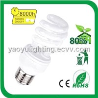 Half Spiral T3 Energy Saving Lamp / CFL