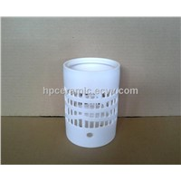 Hand Cutting Ceramic Tealight Holder