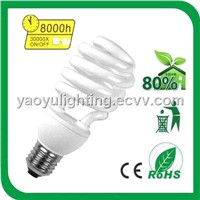 High Quality 7W Half Spiral Energy Saving Lamp
