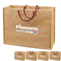 High quality jute tote bag