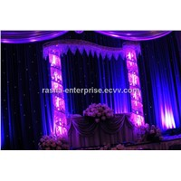 Hot 2M*6M Single Color RGBY LED Star Curtain For DJ Backgroud,LED Curtain Display