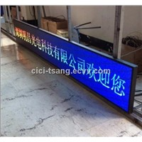 Hot Products High Brightness Waterproof Outdoor P10 Led Module Blue