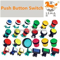 Industrial Waterproof IP67  Led Push Button Switch