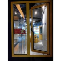 JPCA50 aluminium Energy-saving outside hung glass window for sale