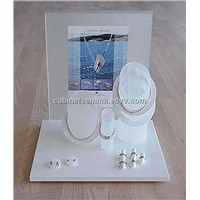 Jewlery Window Dislay Set Acrylic Necklace Mannequin Display
