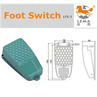 Lema electric foot pedal switch