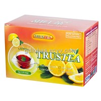 Lemon Sweet blackk tea with sugar free health function