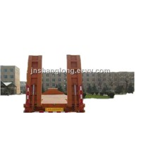 Low Bed Semi Trailers and Truck Trailers Made in China