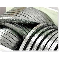 Metal Wire Reinforced Graphite Fiber Packing