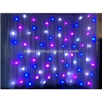 New RGB Wedding Decortaion Curtain, LED Star Curtain, LED Star Cloth