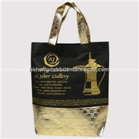 New Design! Nonwoven Bag with Golden Coated Fabric