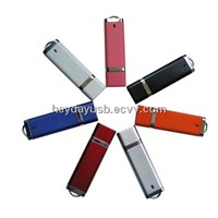 OEM 1GB USB2.0 metal swivel plastic USB Thumb Drive
