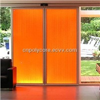 PC Honeycomb Sandwich Panel as Decorative Panel