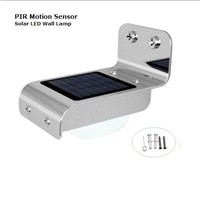 PIR Sensor Solar LED Wall Lamp
