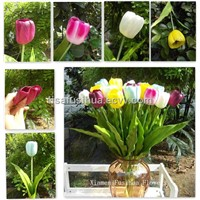 PU Artificial Tulip Flowers, Artificial Tulip, Silk Tulip