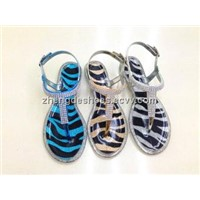 PVC Lady's Jelly Sandals