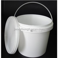 Plastic Bucket with Lid ,5L Plastic Pail ,