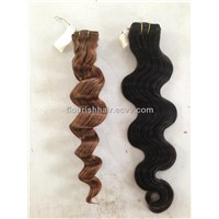 Queen hair products remy hair weave peruvian human hair extensions