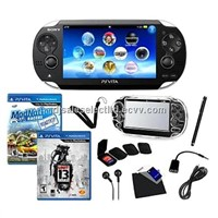 SPS Vita 2 Game Bundle with Accessories