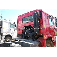 Sale of Trucks Used in the Africa/ HOWO 4X2 Tractor Truck